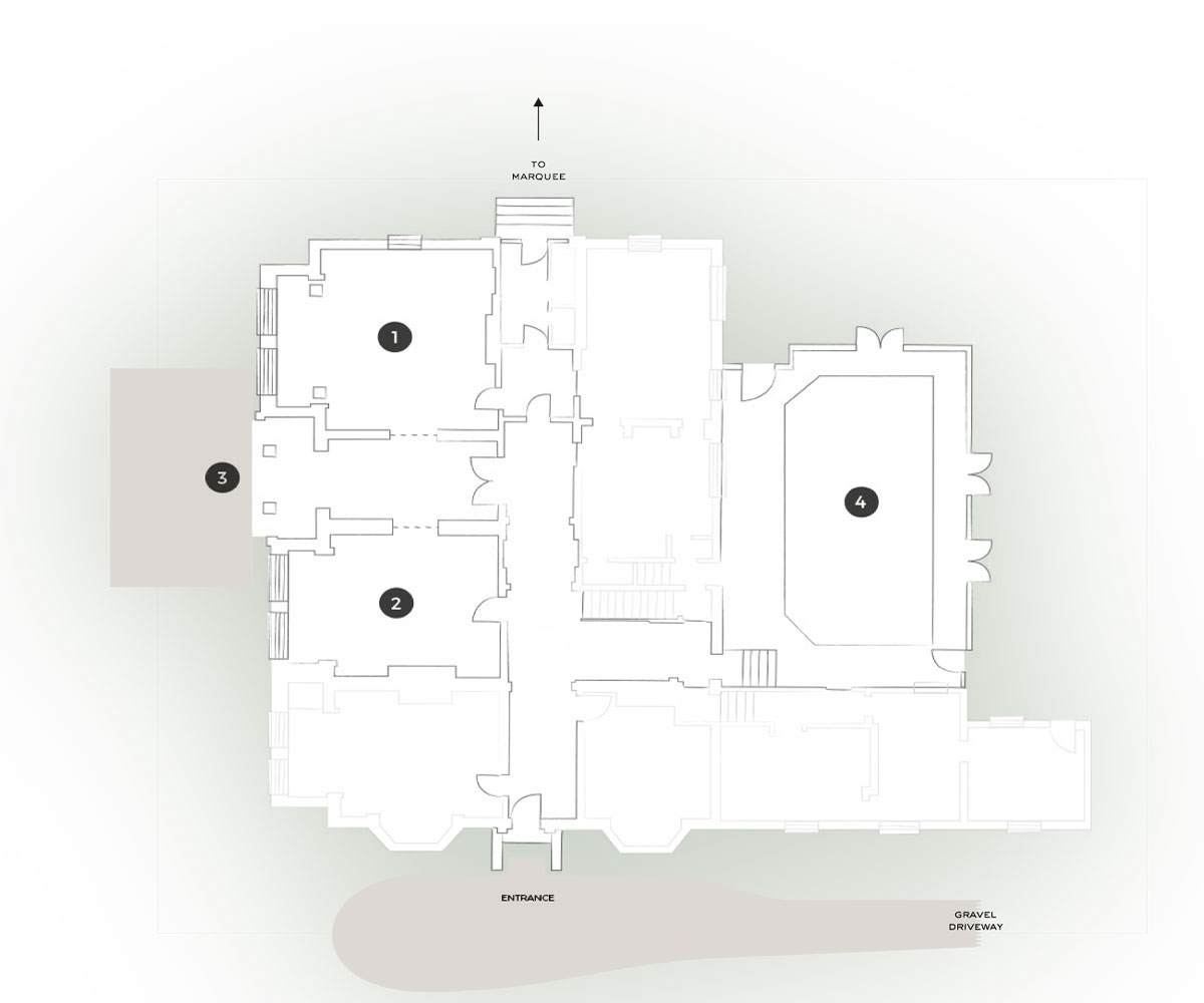 Barrington Hall Floorplan
