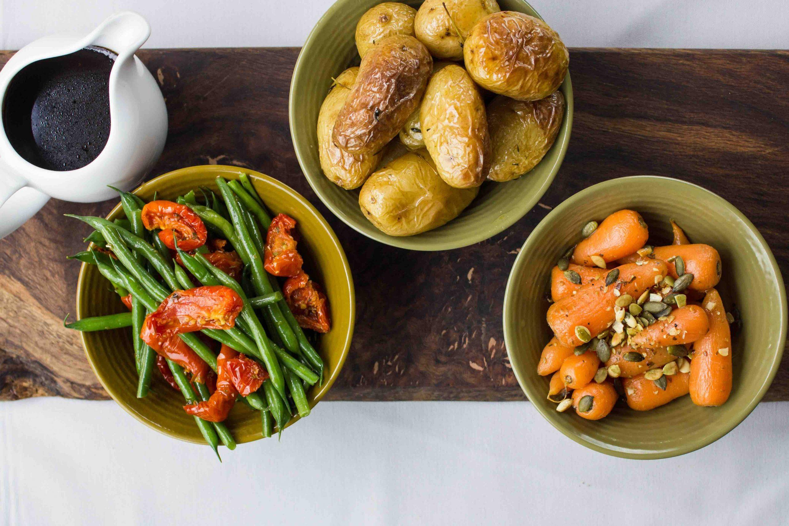 Wedding Fresh Vegetables